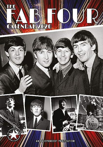 Calendario 2020 Beatles - Paul Mac Cartinney - John Lennon ...