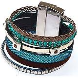 Bracelet Brésilien à fermeture magnétique ethnique et tendance