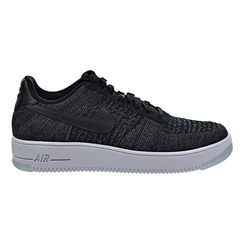 san francisco 72b45 c9b44 Nike Air Force 1 Ultra Flyknit Low Hombre Zapatos Negro Gris Oscuro Blanco  817419 - 004  Amazon.es  Zapatos y complementos