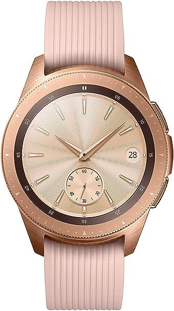 Samsung Galaxy - Reloj inteligente, Bluetooth, Dorado, 42 mm ...