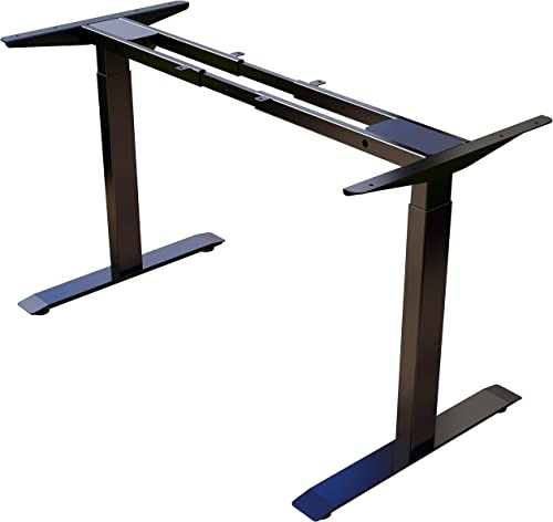 Lubvlook Dual Motor Electric Stand up Desk Frame