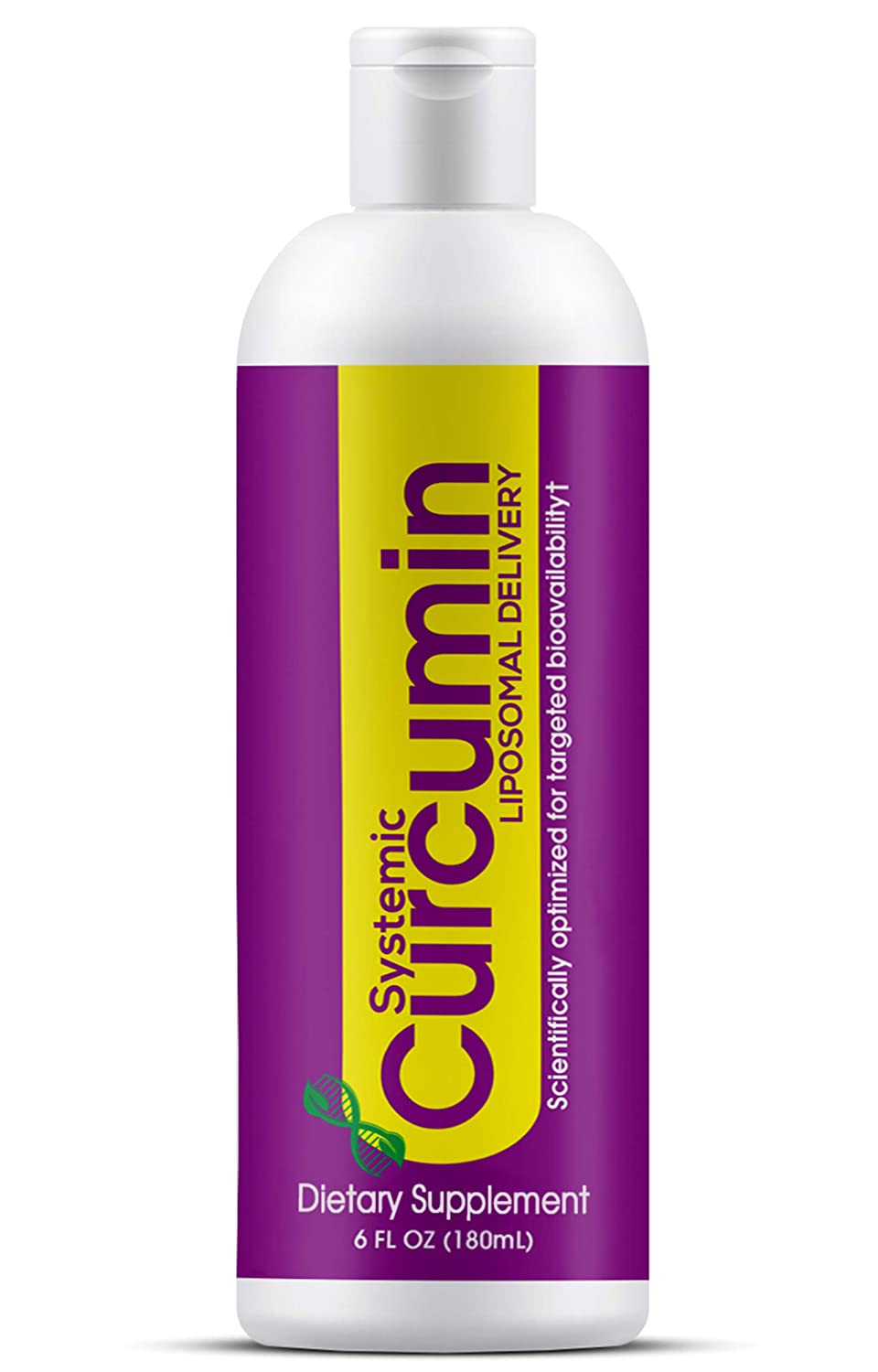 LIPOSOMAL Curcumin* Liquid* Piperine Free* Scientifically Formulated *Targeted Bioavailability