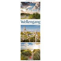 Wellengang - Meeres-Triplets 2020, Wandkalender im Hochformat (24x66 cm) - Landschaftskalender / Naturkalender mit Monatskalendarium