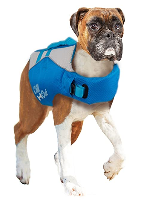 Chaleco salvavidas flotador para perro Chill Out – Dog Life Jacket – Tamaño L