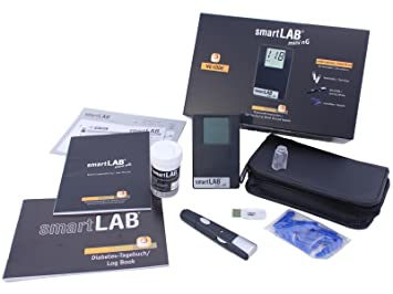 Smartlab Mini Ng Blutzuckermessgerät Mgdl Starterset