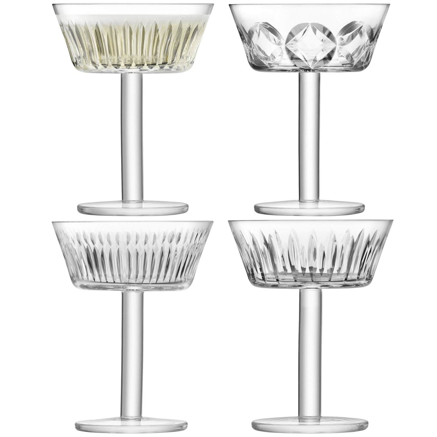 LSA International g1405-08-194 Tatra Champagne/Cocktail Glass, Clear
