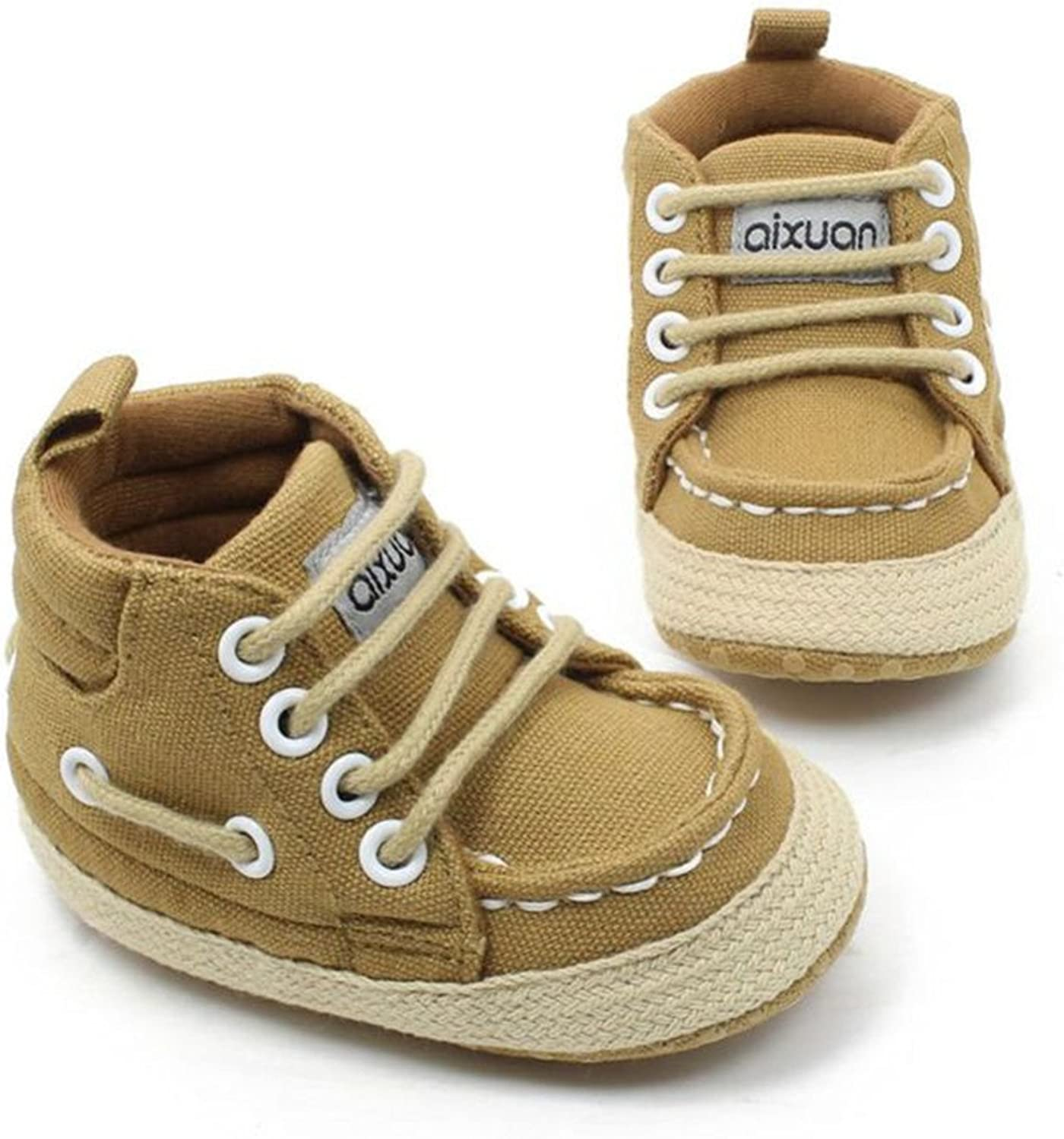 Baby Soft Bottom High-Top Casual Strap Shoes Anti-Slip Girl Toddler Baby