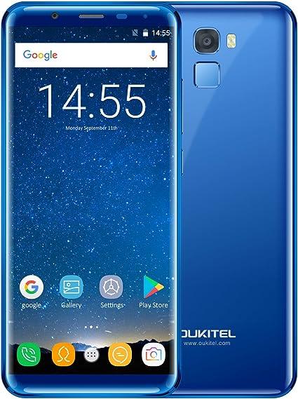 oukitel K5000 – 4 G Android 7.0 Smartphone, 5.7 pulgadas (90% de la pantalla Relación) pantalla,