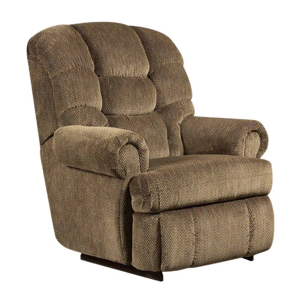 Flash Furniture AM-9930-7980-GG Big and Tall 350 Capacity Gazette Microfiber Recliner  sc 1 st  For Big And Heavy People & Whatu0027s The Best Heavy Duty Recliners For Big Men Up To 500 Lbs ... islam-shia.org