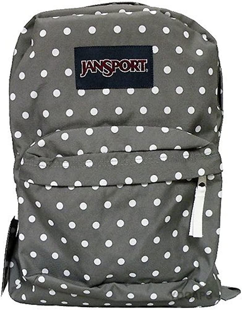 Jansport Classic SUPERBREAK BACKPACK – Shady Grey White Dots