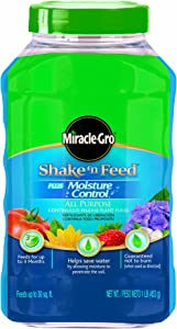 Miracle Gro Shake N Feed All Purpose Plant Food Fertilizer with Moisture Control