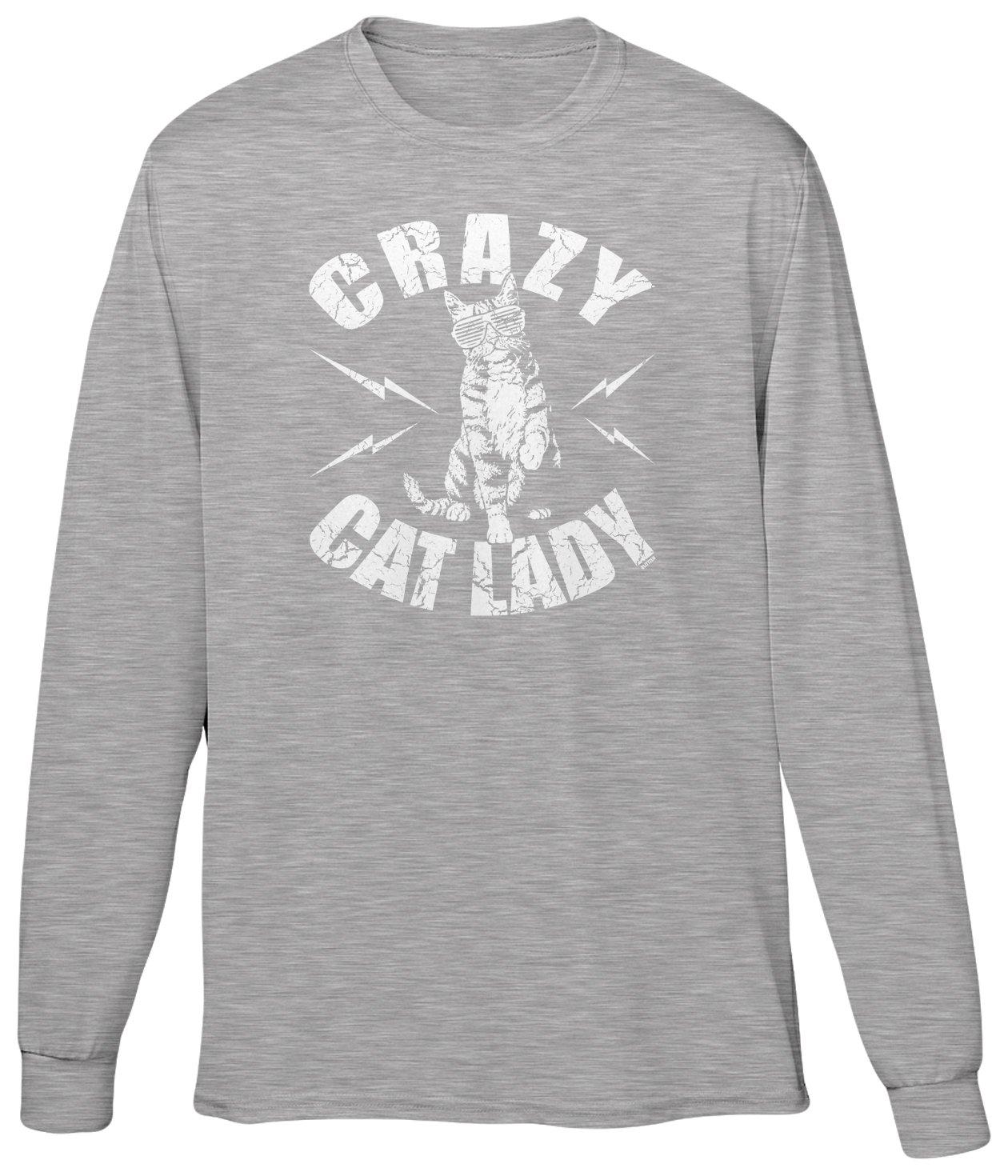 S T Shirt Crazy Cat Lady Cool Cat Mom 2068