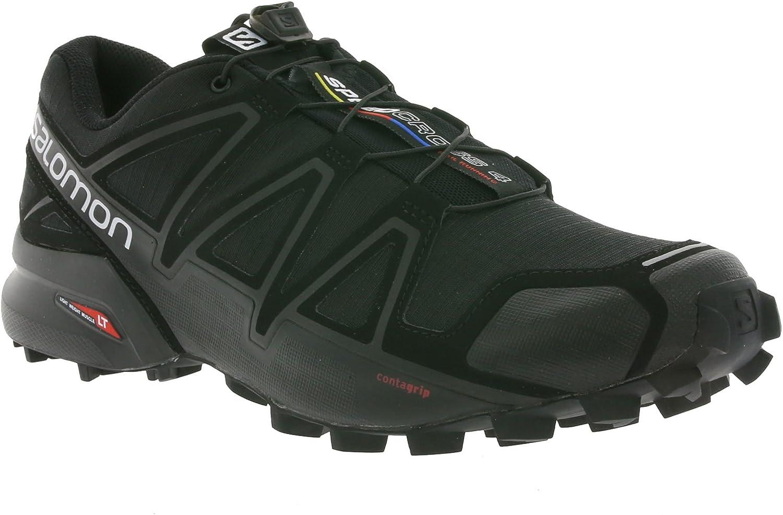Salomon Femme Speedcross 4 Chaussures de Course à Pied et Randonnée, SynthétiqueTextile
