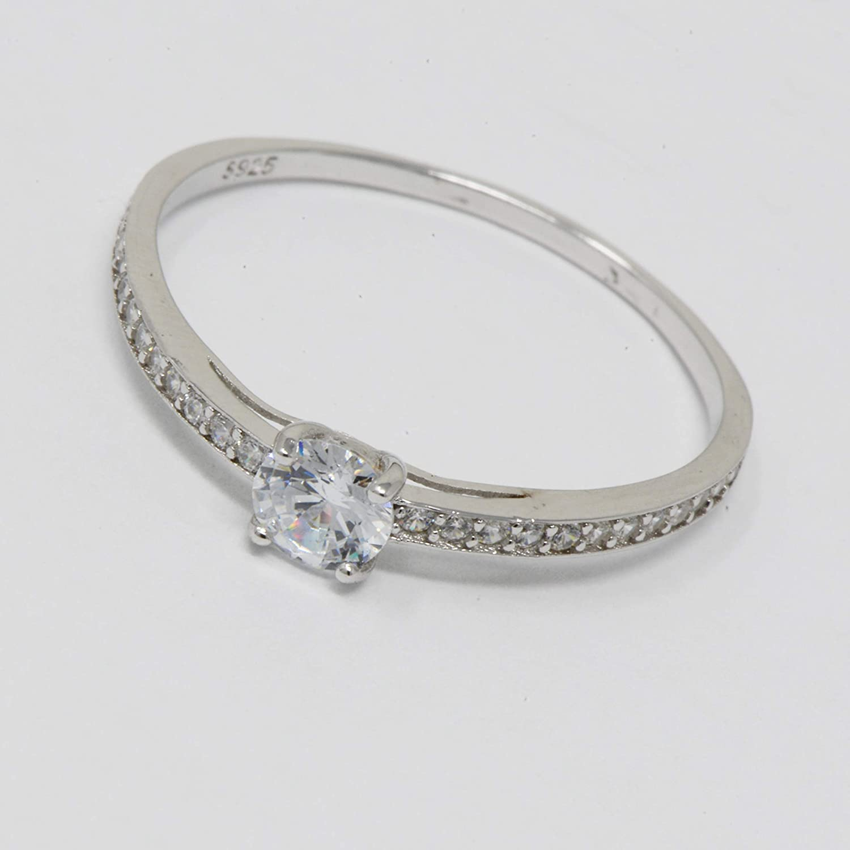 Allgala Sterling Silver 925 Elegant Ring