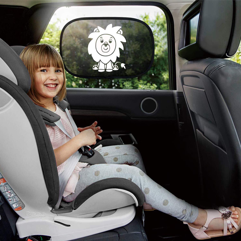 Autoscheiben Sonnenschutz f/ür Seitenfenster Autos und SUVs Kinder Auto Sonnenschutz Toppaie Sonnenschutz Auto Sonnenblende Auto Baby UV Schutz Sonnenblenden
