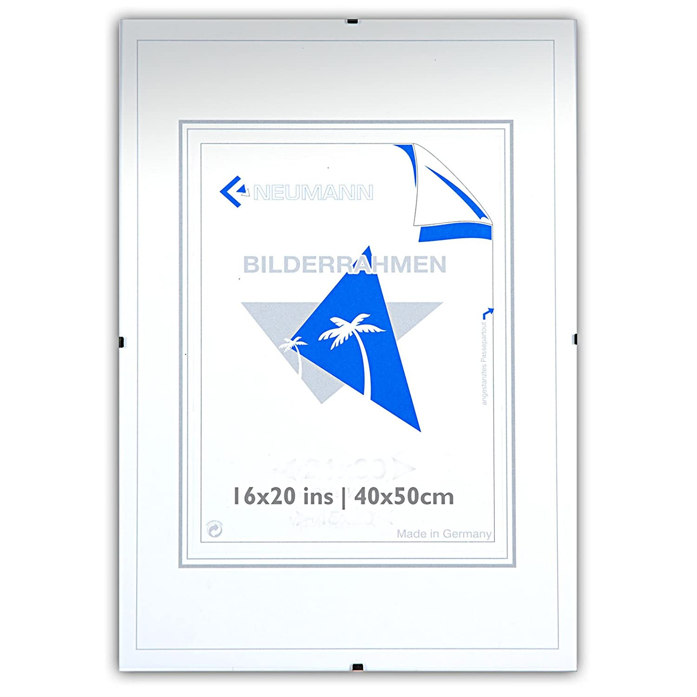 Amazon.de: Bilderhalter rahmenlos, N 35 x 50 Clip-Rahmen, Bildträger ...