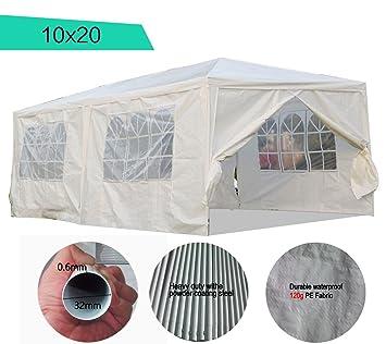 Peaktop 10x20 Outdoor Party Wedding Tent Canopy Gazebo Carport Storage Shelter Pavilion Multiple