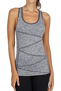 Amazon.com: Tops de yoga para mujer, lindo entrenamiento ...