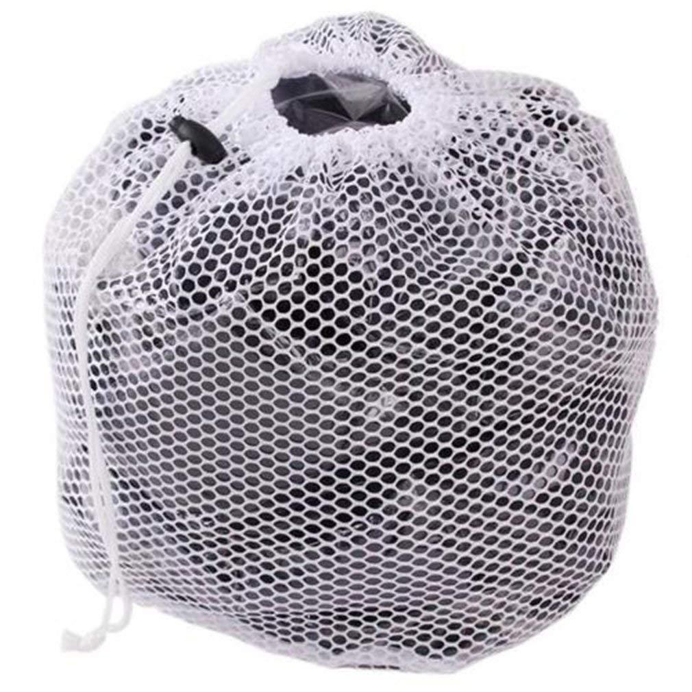 Drawstring Washing Bag Laundry Mesh Saver Net Bag for Washing Machine XL - 50x70cm, Coarse Mesh