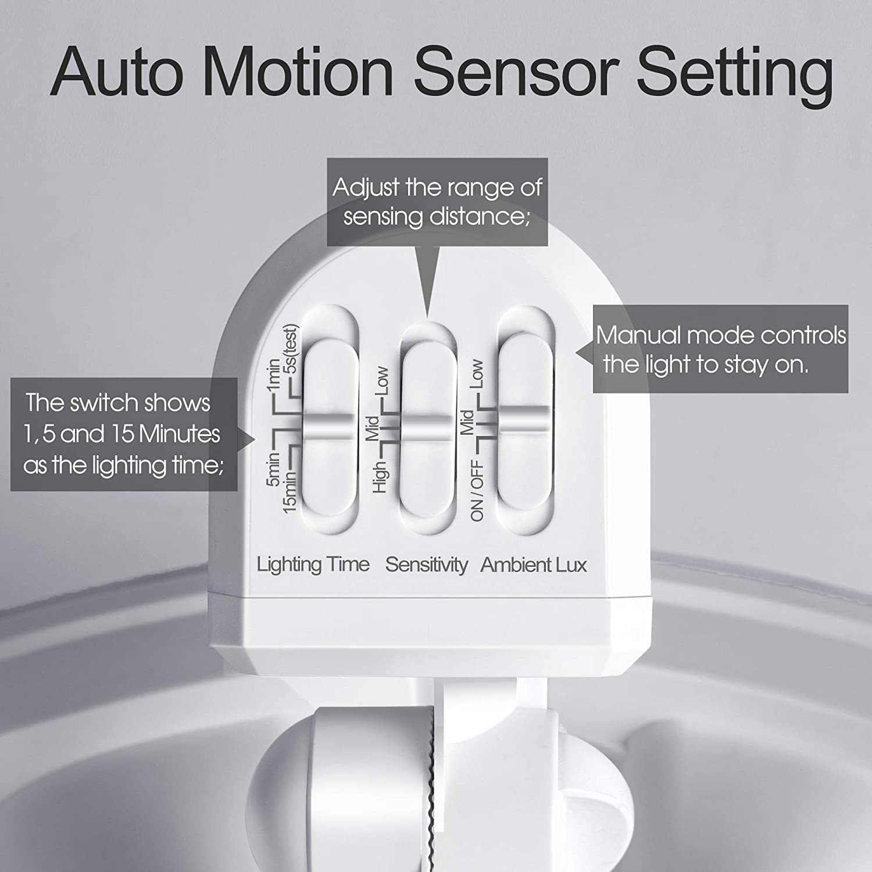 Amico 28W LED Security Lights Motion Sensor Outdoor Motion Flood ...