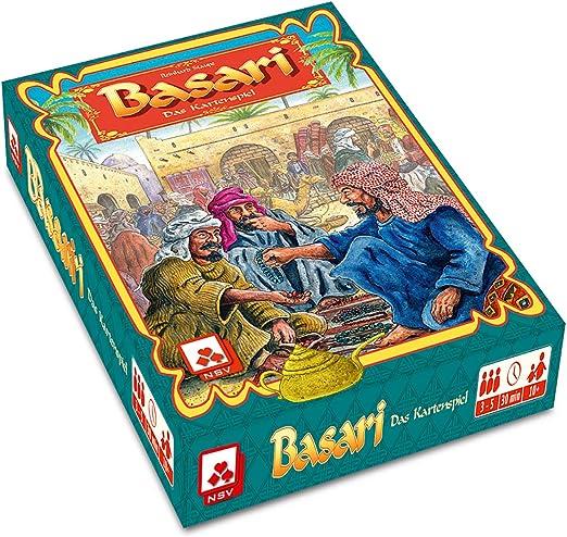 NSV - 4028 - BASARI - Juego de Cartas (versión en alemán): Amazon.es: Juguetes y juegos