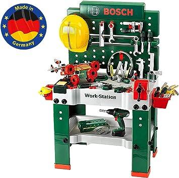 Theo Klein 8485 Bosch Banco de Trabajo no. 1, Juguete, Multicolor (THEOK 8485)