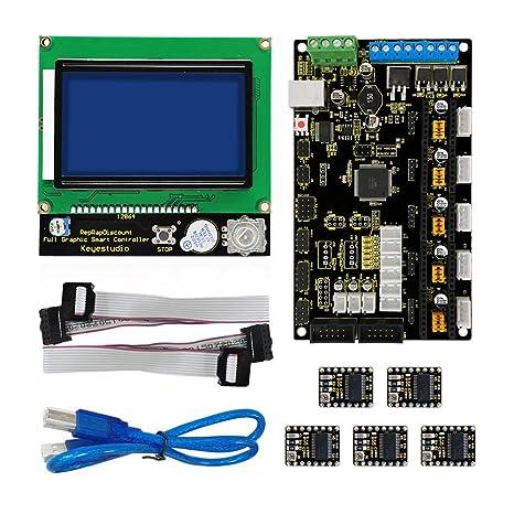 Kit de impresora 3d para Arduino MKS Base V1.2 + 8825 Disco ...