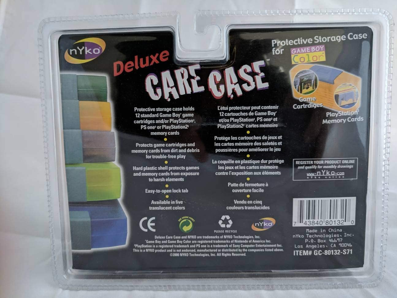 Amazon.com: Nyko Deluxe Original Gameboy (Original, Pocket ...