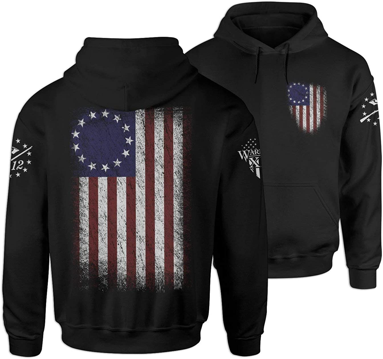 Warrior 12 Betsy Max 62% OFF Flag Ross Hoodie Sales for sale