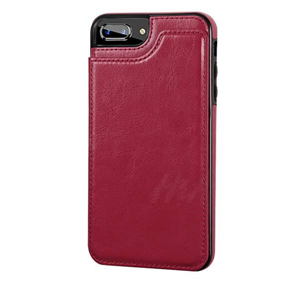 f4c03811bec3 Image Unavailable. Image not available for. Color  Luxury Leather Phone Case  for iPhone X 7 8 6 ...