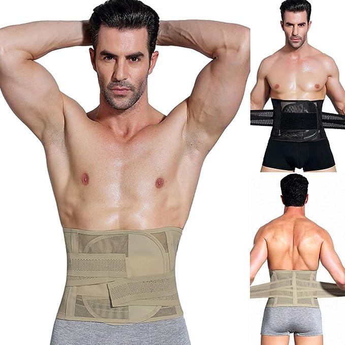 MOOUK Cinturón de Entrenamiento de Cintura para Hombre, para Adelgazar, Adelgazar, Adelgazar, para pérdida de Peso: Amazon.es: Deportes y aire libre