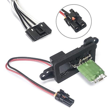 amazon com ac blower motor resistor with wire harness hvac fan rh amazon com