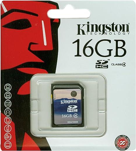 Amazon.com: Kingston Tarjeta de memoria flash SDHC de clase ...