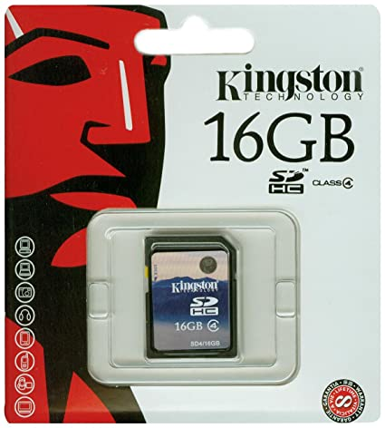 Kingston 16 GB Class 4 Memory Card  SD4/16 GB  Micro SD
