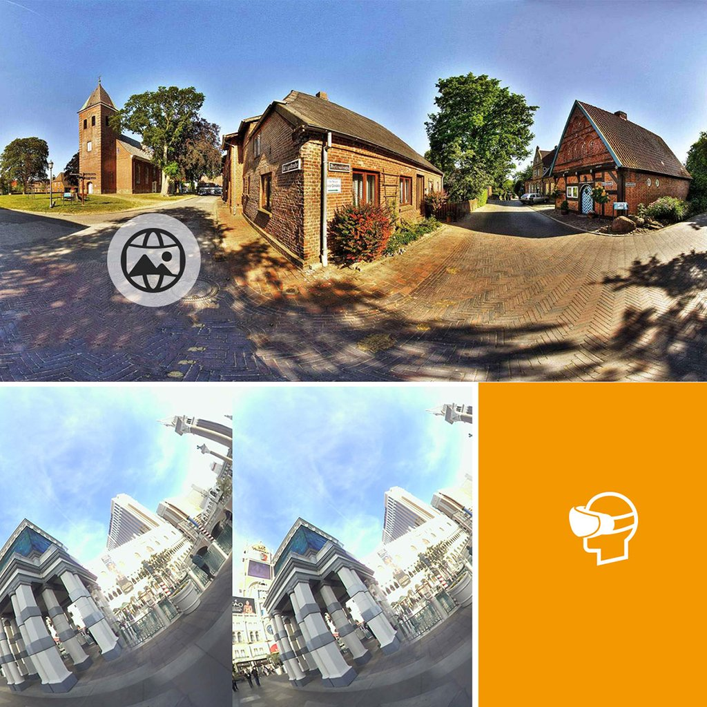 Dovewill Dual 210° Fisheye Lens HD VR Camera for Android Phone Live Seamless Stitching Blank by Dovewill (Image #10)