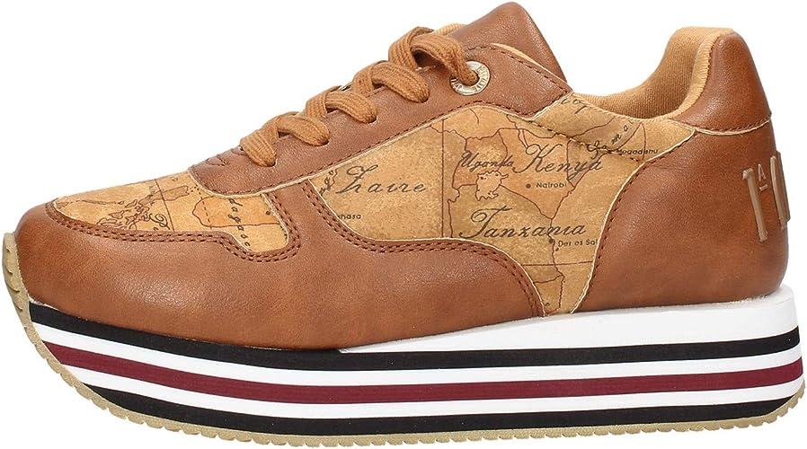 Scarpe da donna Alviero Martini 1 Classe 10696 sneakers casual sportive platform