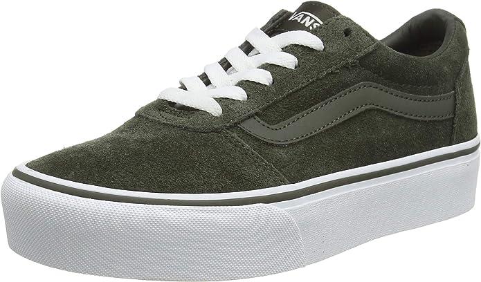 Vans Ward Sneakers Platform Damen Grün