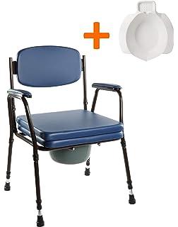 Silla WC con inodoro - modelo Anota Confort 053 sin ruedas y ...