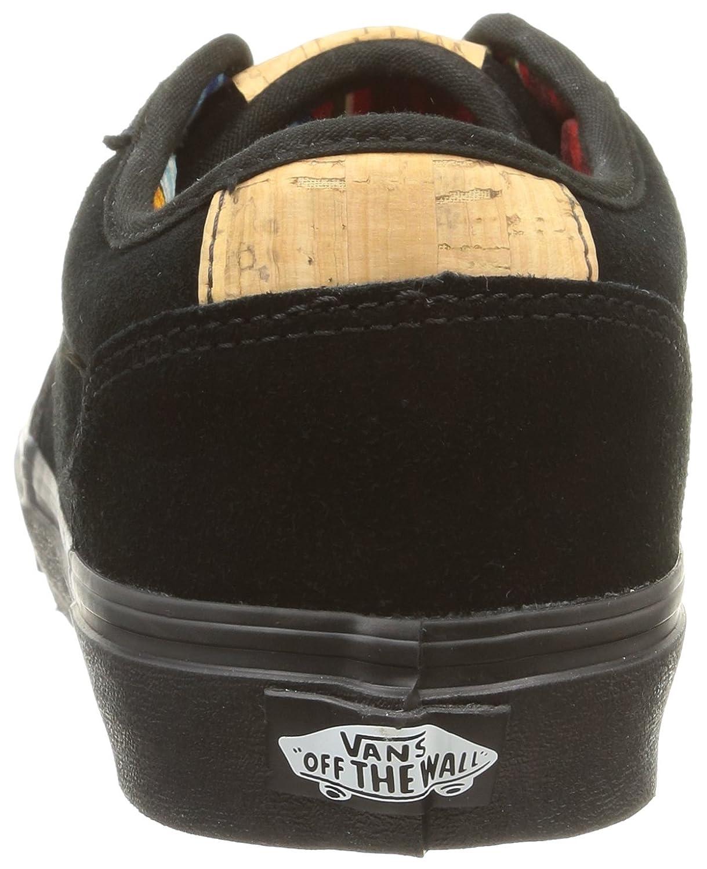 Vans M Atwood Deluxe Suede - Zapatillas Bajas para Hombre, Color Suede/Black/Blanket, Talla 45