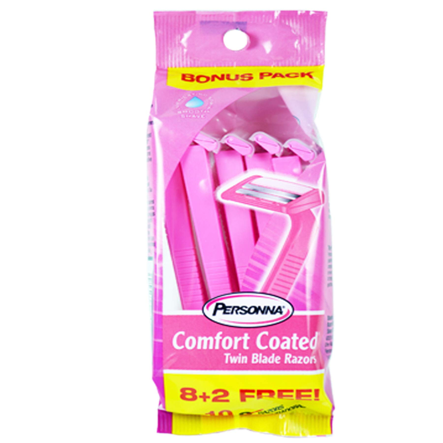 (Pack of 36, 360 Ct) Personna Razor Women, Twin Blade