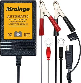 Mroinge MBC010 Automotive Trickle Maintainer 12V 1A Smart Charger
