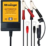 Mroinge MBC010 Automotive Trickle Battery Charger Maintainer 12V 1A Smart Automatic Battery Chargers for Car Motorcycle…