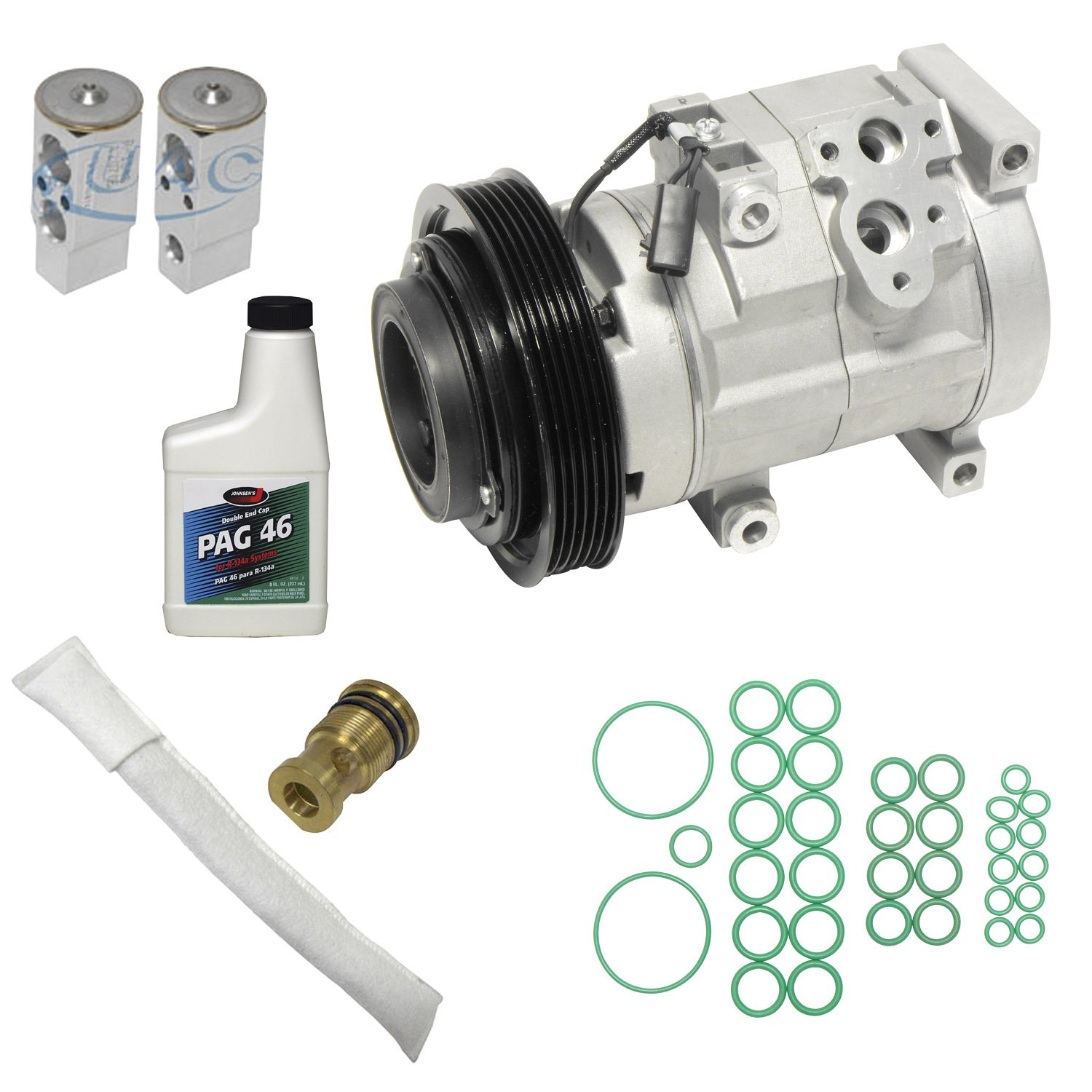 Universal Air Conditioner KT 1972 A//C Compressor and Component Kit