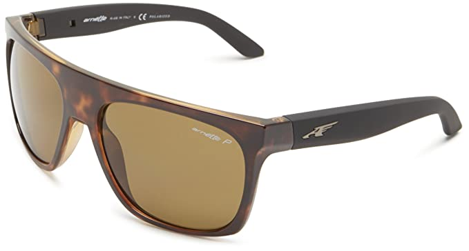 Mens 0AN3073 693/F9 Sunglasses, Brown/Brownmirrorbronze, 63 Arnette