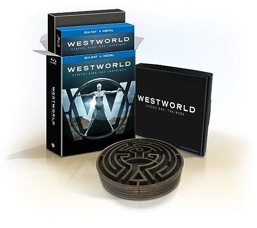 Westworld Staffel 1 Ultimate Collector's Edition: Blu-ray Digibook und  exklusives Labyrinth Sammlerstück (exklusiv bei Amazon.de) [Limited Edition]