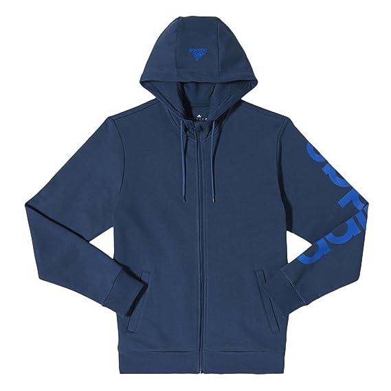 adidas Essential Linaje Sudadera Para Hombre Chaqueta Con Capucha Azul - algodón, Azul, 80% algodón 20% poliéster, Hombre, Large, Azul: Amazon.es: Ropa y ...