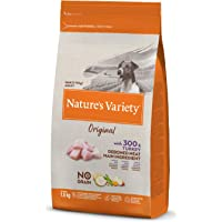 Nature's Variety Original No Grain - Pienso para perros adultos mini con pavo deshuesado 1,5 Kg