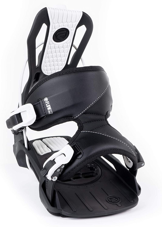 Flow 2021 Mens Gap Snowboard Package Black Alpha Bindings BOA Boots