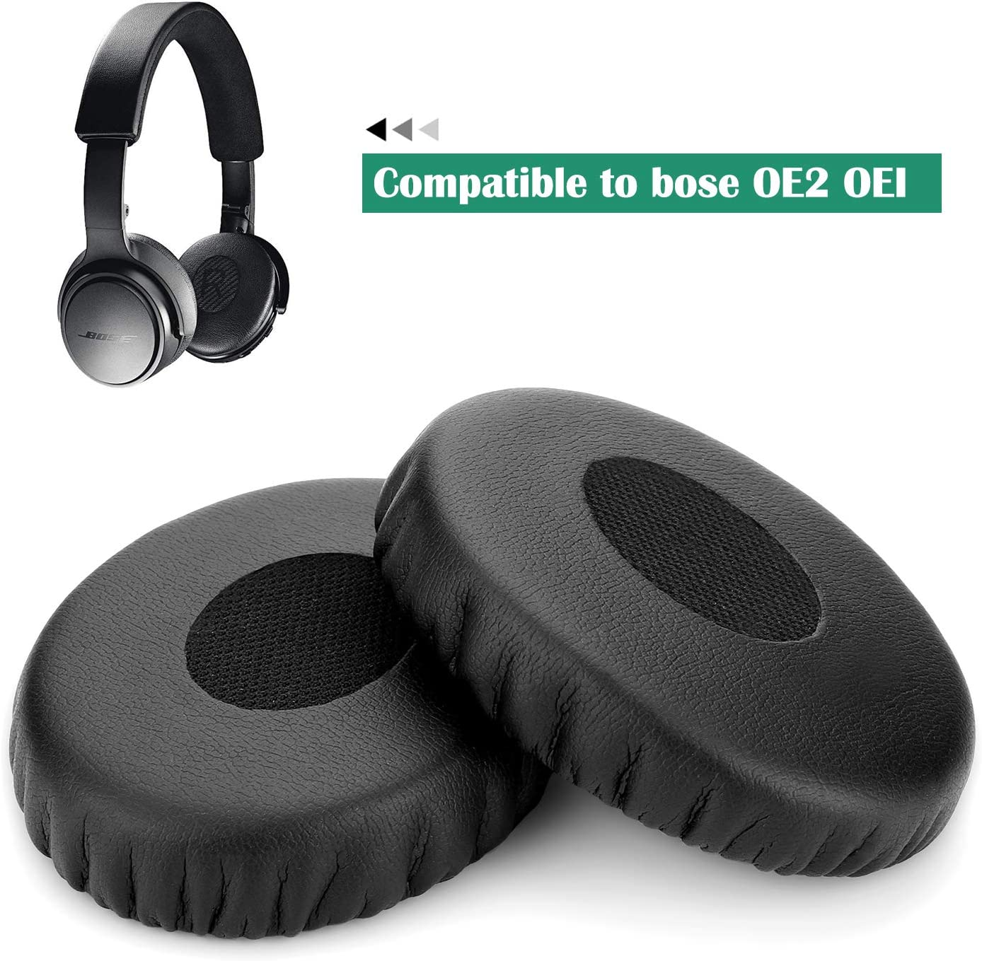 2 Inch Headphone Pads Ear Cushions Foam