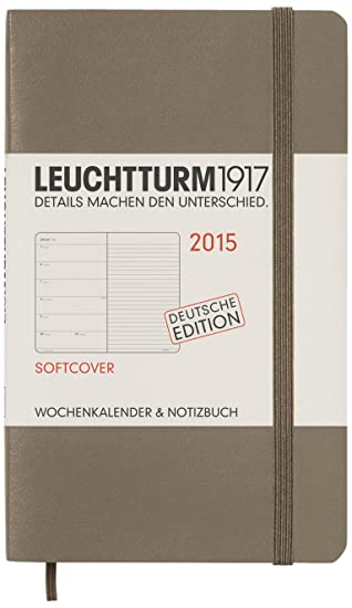 Leuchtturm1917 345551 - Agenda 2015 (formato A6, incluye ...